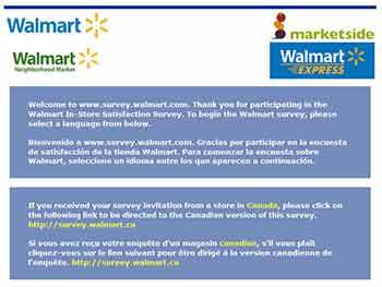 www survey.walmart com www survey walmart com   $1,000 WalMart Shopping Cards Sweepstakes