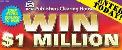 Win a Million Dollars with PCH.com SuperPrize (Giveaway #3148