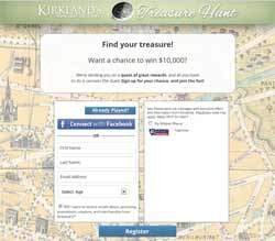 kirklands treasure hunt