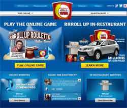 roll up the rim rolluptherimtowin.com   Roll Up The Rim to Win Contest 2013