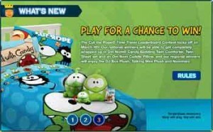 bkcrown com 300x186 BKCrown.com Contest   Cut The Rope Leaderboard