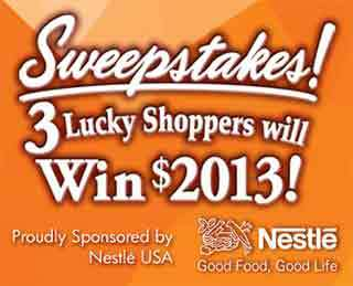 IGA Sweepstakes 2013
