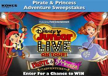 Disney Pirate and Princess Adventure Sweepstakes