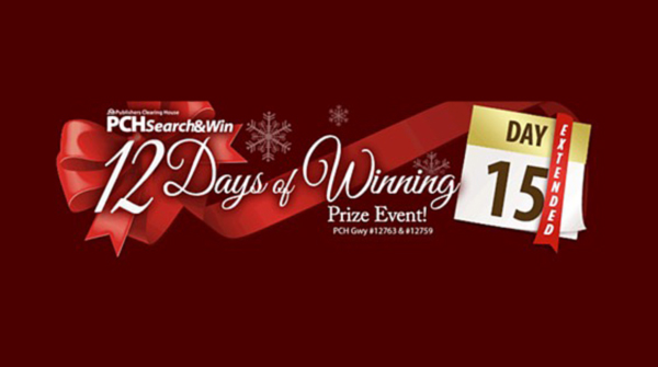 PCH 12 Days of Winnings