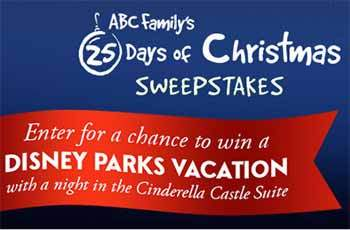 25 Days of Christmas Sweepstakes