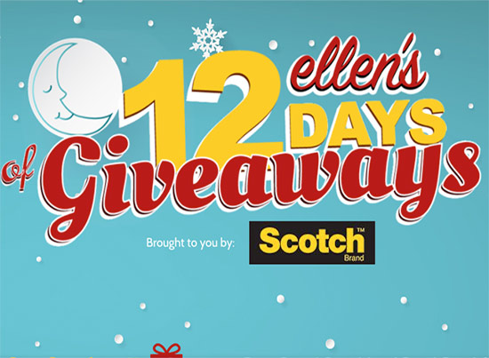 12 DAYS OF GIVEAWAY YICKETS