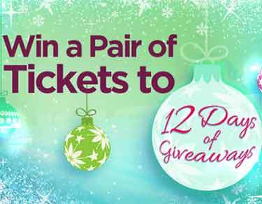 ... 12days - Win a Pair of Tickets to Ellen's 12 Days of Giveaways 2013