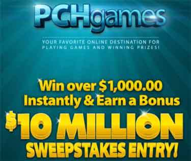 PCH Games Account Creation