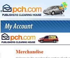pch account Myaccount.pch.com   PCH Account and Shopping