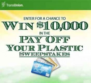 transunion sweepstakes