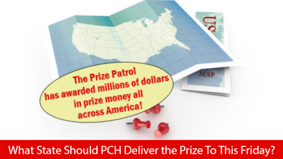 What State The Prize Patrol are Going ?