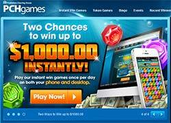 PCH Games for Instant win games