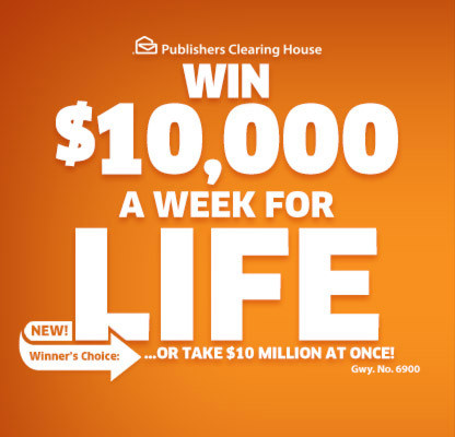 Win $10,000 a Week for Life