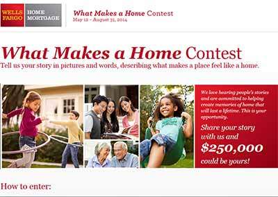 wellsfargo.com Contest 2014