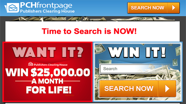 PCHFrontpage - The Homepage for Winners!