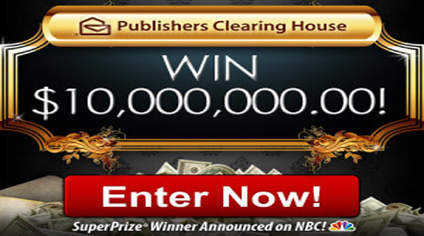 PCH $10 Million SuperPrize Giveaway No  11000