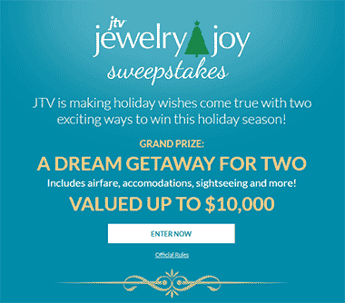 JTV's Jewelry Joy Sweepstakes