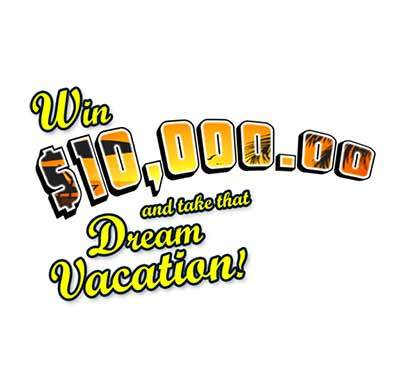 PCH $10000 Dream Vacation Giveaway 2015