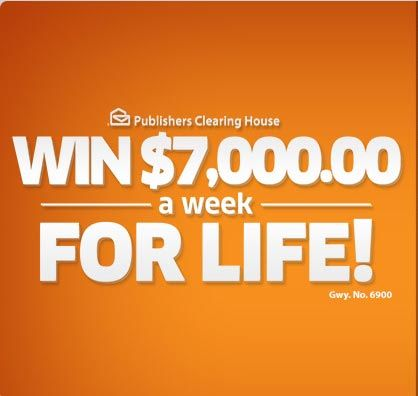 Win $7000 a Week for Life