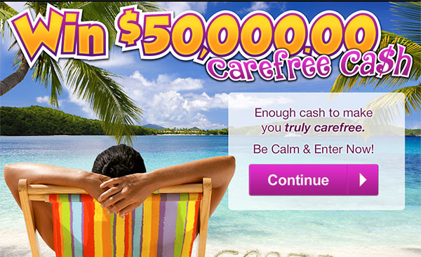 Win Travel Sweepstakes