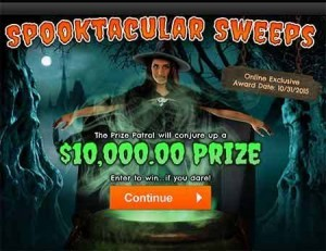 PCH Halloween Sweepstakes