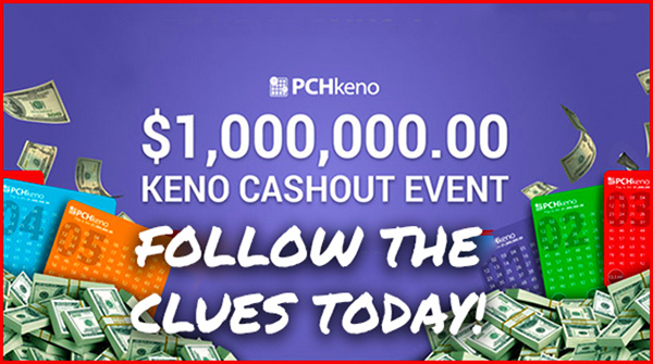 Keno Cashout Event from PCH
