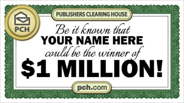 Win $1 Million Dollars with PCH com SuperPrize