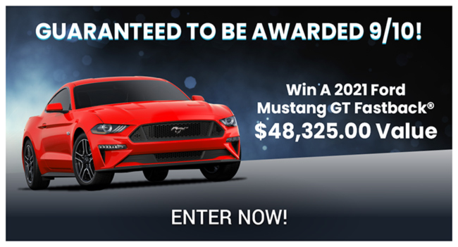 Win Ford Mustang 2021