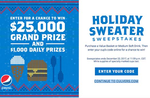 Instant win holiday sweepstakes scams