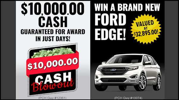 PCH Car Sweepstakes - Win a Ford F-150 Truck