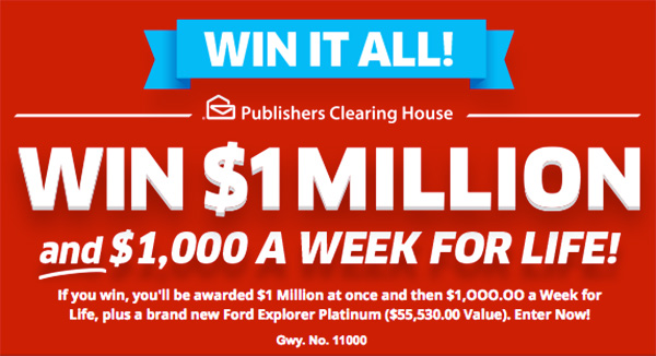 Win It All Sweepstakes