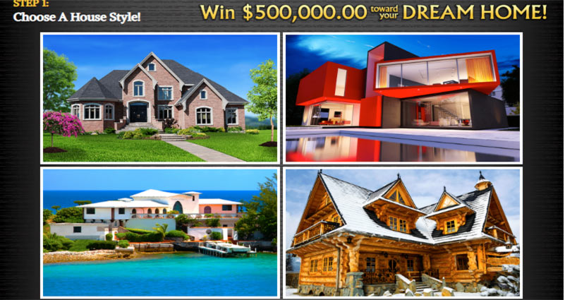 PCH Dream Home $500,000 00 to Win