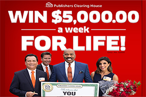 PCH $5000.00 a Week for Life Entry