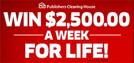 PCH $1000.00 a Day for Life Entry